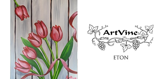 ArtVine, Sip & Paint in Eton, 25th March 2020