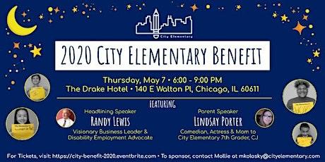 2020 City Elementary Benefit tickets