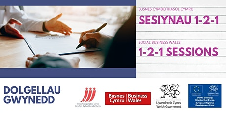 Assistance for New Social Businesses - 1to1 support session in Gwynedd tickets