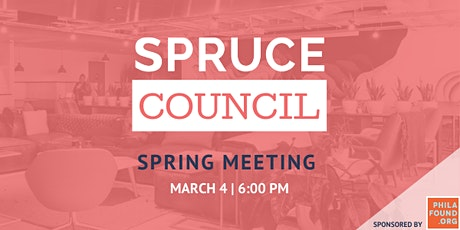 Spruce Council: Spring Meeting tickets