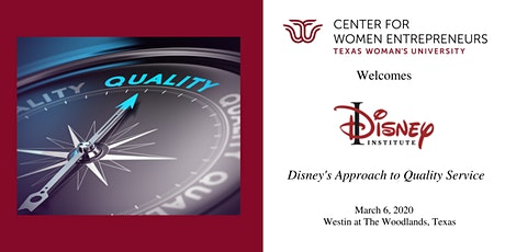 Texas Woman's University Welcomes Disney Institute to The Woodlands tickets