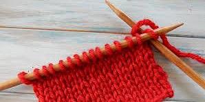 Beginner Knitting and Beer