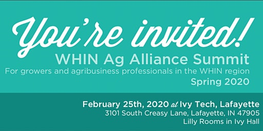 Spring 2020 WHIN Ag Summit