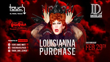 Louisianna Purchase • Dragula Season 3 • Live at Touch Bar El Paso