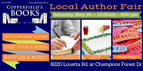 Local Author Fair tickets