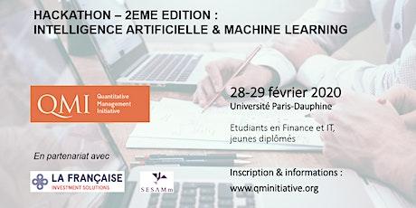 Hackathon IA & Machine Learning par QMI, LFIS & SESAMm tickets