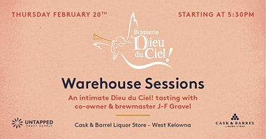 An intimate Dieu du Ciel! tasting with Co-owner and Brewmaster J-F Gravel