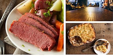 3rd Annual Corned Beef/Irish Dinner Fundraiser! tickets