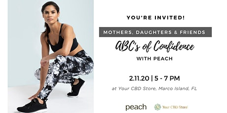 The ABC's of Confidence with Peach tickets