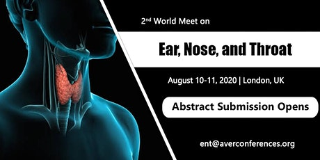2nd World Meet on Ear, Nose, and Throat tickets