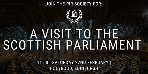 A Visit to the Scottish Parliament