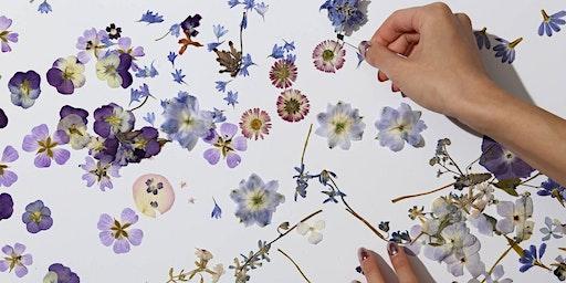 Flower Pressing and Natural Paper Making Workshop