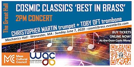 Cosmic Classics Best in Brass — 2PM Concert tickets