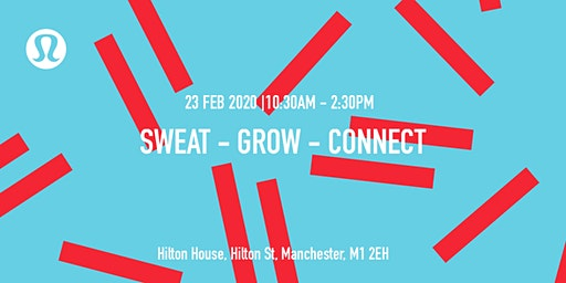 lululemon Manchester - Sweat, Grow and Connect.