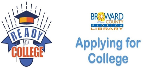 Applying for College @ Northwest Regional Library tickets