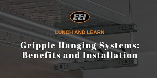 EEI Lunch and Learn - Gripple Hanging Systems: Benefits and Installation