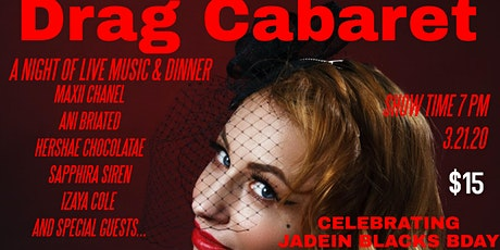 A night at the Drag Cabaret  tickets