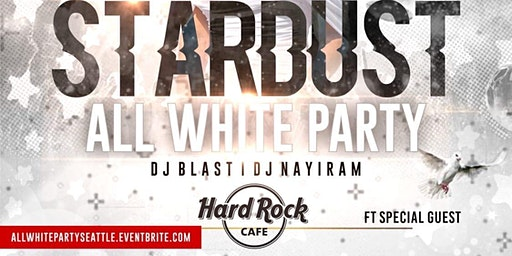 STARDUST (AN ALL WHITE  AFFAIR)