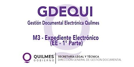 MODULO 3:  EXPEDIENTE ELECTRÓNICO (EE)  Nivel 1 entradas