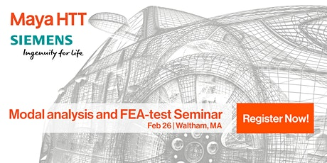 Modal analysis and FEA-test Seminar tickets