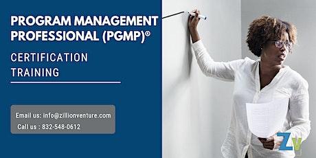 PgMP 3 days Classroom Training in Cap-de-la-Madeleine, PE tickets