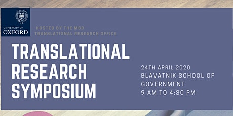 Translational Research Symposium tickets