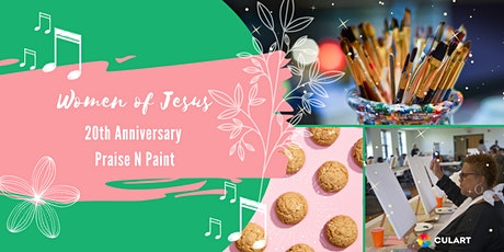 Women For Jesus Praise and Paint tickets