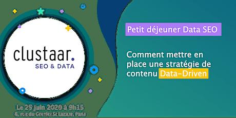 Petit déjeuner Data SEO : Comment mettre en place une stratégie de contenu Data-Driven tickets