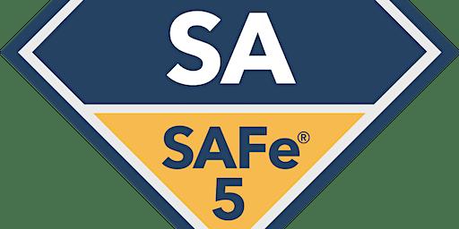 Leading SAFe 5.0 with SAFe Agilist Certification Overland Park ,KS(Weekend)
