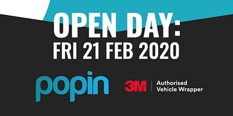 PopIn Open Day tickets