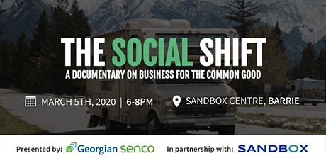 The Social Shift Documentary Screening tickets