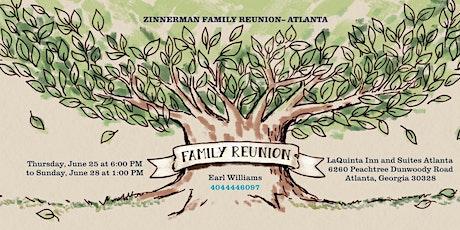 Zinnerman Family Reunion tickets