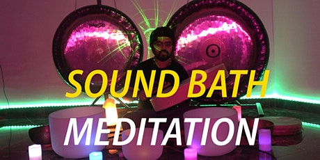 Free Livestream : Gong Sound Bath | Sound Therapy | Meditation tickets