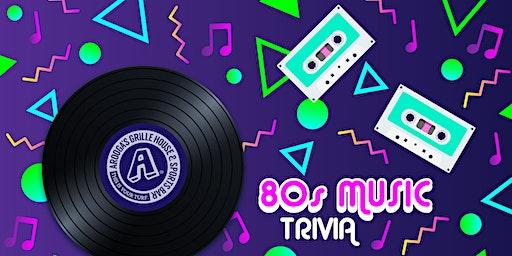 Arooga's Warwick '80's Music' Trivia Night - Win Great Prizes