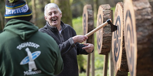 Axe throwing event 23 February 2020, 12.30 - 2pm, Bridgend