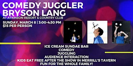 Comedy Juggler Bryson Lang tickets
