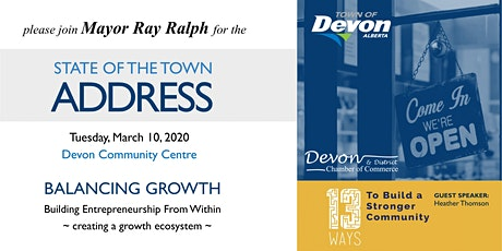 Devon - State of the Town Address tickets
