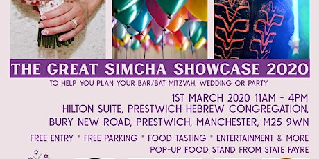 The Great Simcha Showcase 2020 tickets