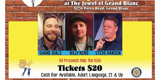 Comedy Fundraiser at The Jewel