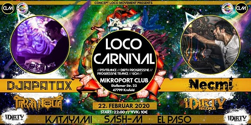 LOCO CARNIVAL /w NECMI and many more