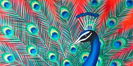 Peacock Parade Brush Party - Marlow tickets