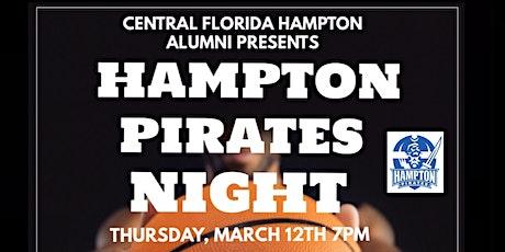 Hampton Pirates HBCU Night tickets