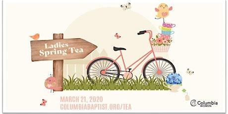 Ladies' Spring Tea 2020 tickets