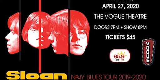 Sloan - Navy Blues Tour 2019-2020