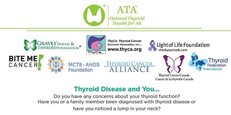 ATA Alliance for Thyroid Patient Education presents the 2020 Health Forum tickets