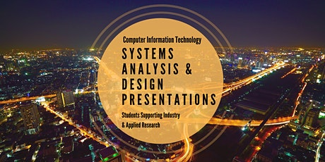 System Analysis & Design Presentations for Computer Information Technology tickets