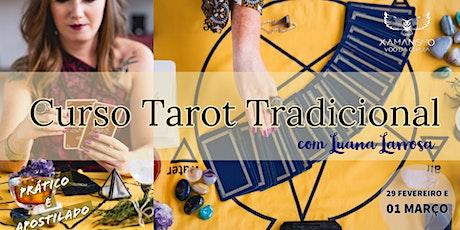 Curso de Formação em Tarot Tradicional ingressos