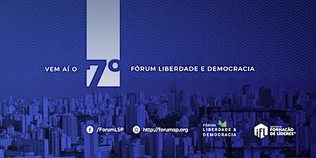 7º Fórum Liberdade e Democracia bilhetes