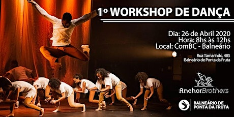1º WORKSHOP DE DANÇA ingressos