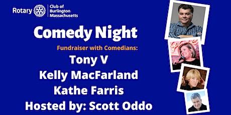 Comedy Night with Tony V, Kelly MacFarland, Kathe Farris & Scott Oddo tickets